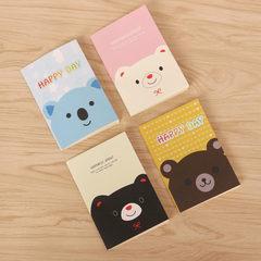 Small notebook small cute notepad cartoon pocket b 20