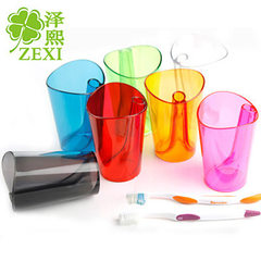T2020 creative anti-fouling washing cup can print  Color random Round 401-500 or so