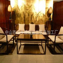 中式古典高档实木家具 客厅茶台家私整套 新中式红木沙发
