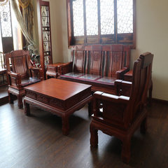 Dongyang rosewood furniture solid wood furniture h Spend pear color