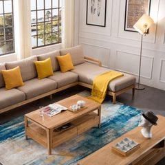 北欧布艺沙发小户型双人三人组合现代简约休闲可拆洗客厅沙发