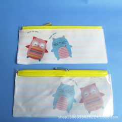 PVC cartoon pencil bag stationery bag student pen  Can be customized