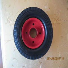 Tailor-made trailer solid wheel tunnel lining plat Solid wheel + shaft