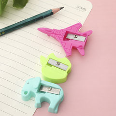 Creative candy color pencil sharpener pencil sharp The plane series