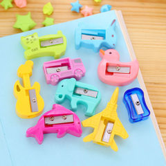 Candy color pencil sharpener pencil sharpener penc The plane