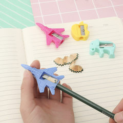 Creative cartoon style pencil sharpener students l The plane series