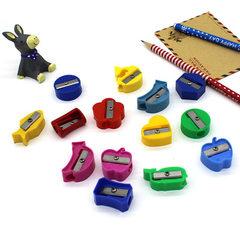 糖果色迷你削笔刀  实用儿童卡通卷笔刀订做  学生学习用品礼品 爱心-随机一个