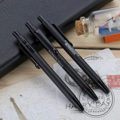 Plastic advertising ball pen short promotional pur The bullet type (1.0)