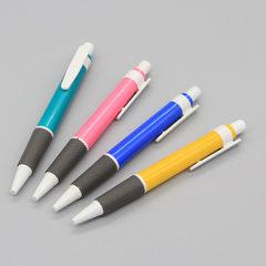 厂家批发 可印LOGO圆珠笔办公文具用品广告笔活动礼品笔加工定制 子弹型0.5