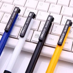 6546圆珠笔 学生办公文具蓝色油笔 创意塑料按动广告笔 厂家批发 子弹型0.7