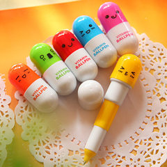 Korea creative stationery lovely expression capsul The bullet type (0.7)