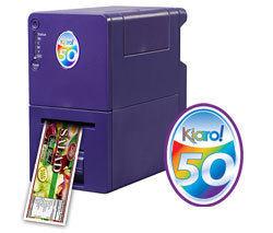 厂家直销Kiaro!50彩色喷墨标签打印机 高质量精密耐用标签打印机