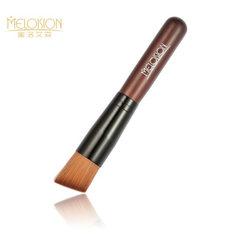厂家直销 Meloision 高品质 原木柄斜头粉底刷化妆刷  跨境热卖 HF004