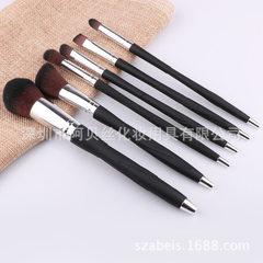 Manufacturer direct sale 5 makeup brush suit mini  pink