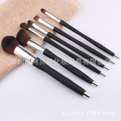 Manufacturer direct sale 5 makeup brush suit mini  pink