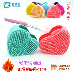 Manufacturer spot hot selling silicone heart clean white