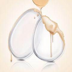 硅胶粉扑 5055批发透明硅胶粉扑 化妆果冻粉扑 透明果冻粉扑 透明叶子形
