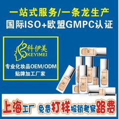 供应粉底bb霜生产厂  bb霜代工 上海化妆品加工厂ODM
