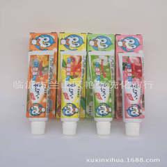 小叮当儿童牙膏45g无氟防蛀健齿 4款可吞咽牙膏 可混搭 12支起批
