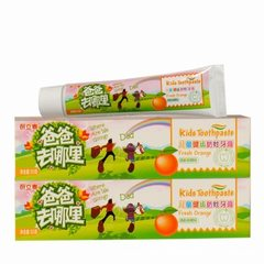 Jindian children`s toothpaste 60g orange strawberr 60 g orange flavour