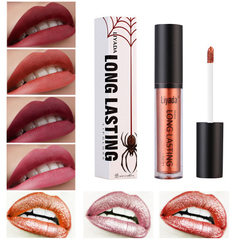 LIYADA high quality matte lip gloss non-stick cup  The total number is 12 times