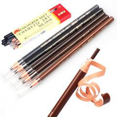 亨丝眉笔化妆师影楼专用1818拉线眉笔  拉线笔 黑棕灰棕色5色选 9号-茶色