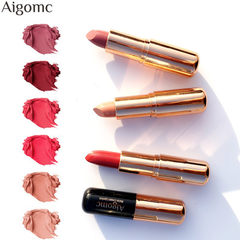 AIGOMC matte lipsticks are light, light and easy t Other contact customer service