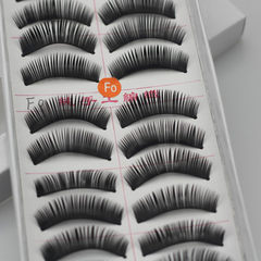 717 cotton line mechanism false eyelash thick eyel 10 for to