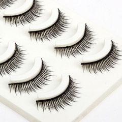 False eyelash manufacturer wholesale five pairs of Five for