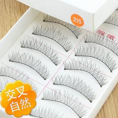Taiwan pure manual false eyelashes 215# 10 pairs o Eyelash on # 215