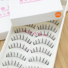Taiwan pure manual false eyelashes 099# 10 pairs o Eyelash on # 099