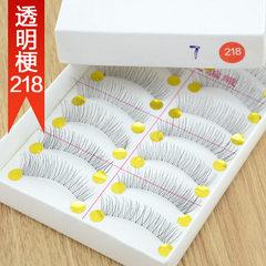Taiwan pure manual false eyelash 218 transparent t False eyelash T218