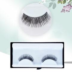 Popular hot style false eyelashes handmade pure li A pair of 12