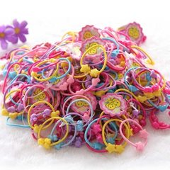Manufacturer direct sale candy children hair circl 5 color