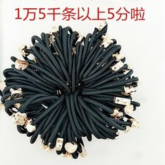 Gold bead hair ring head rope wholesale gift small black