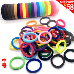 Hair ring high elastic accessories in the middle n black