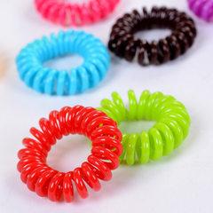 B0938 color telephone line hair ring hair rope Kor B0946 fluorescence transparent (single price)