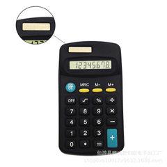 跨境专供亚马逊一件代发402小型电子礼品计算器学生礼品计算器 黑色