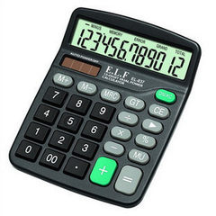 Yi lifa 12-digit multifunction calculator el-837 d