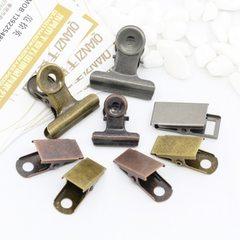2018东莞夹子厂家供应上百款办公用品金属夹子票夹各种铁夹子订做 31MM