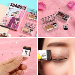 Hot style grey eye shadow for 3 seconds. Web celeb Coral + cocoa brown
