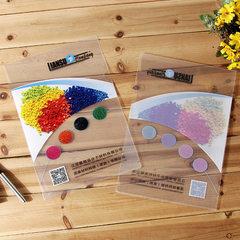 Manufacturer direct selling plastic transparent ad Transparent color