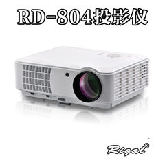 投影仪   RD-804  高清投影机  5.8寸LED投影机 家用投影机