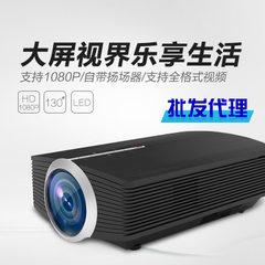 投影仪新款YG500家用迷你微型LED高清1080P投影机影院机工厂直销