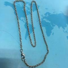 厂家批发项链304不锈钢手链不锈钢珠链铁链不锈钢饰品链条。 银色