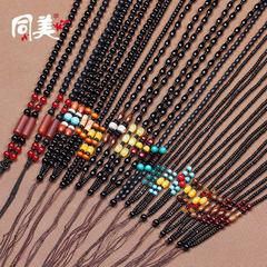 DIY creative pure handmade beads weaving necklace  Design is eight