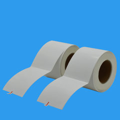Adhesive printing, thermal sensitive paper barcode monochromatic
