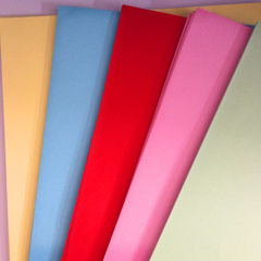 Color paper A4 size photocopier paper /A4 size col Bright red