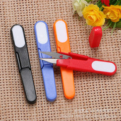 Cross - stitch with cap line scissors fishing tool Color tape cover safety scissors