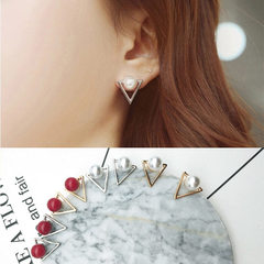 Manufacturers direct sale Korea fashion geometric  golden